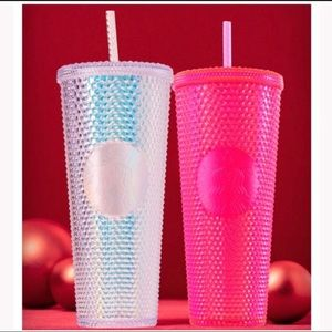 Set of 2 Starbucks 2019 Holiday Tumbler Cups